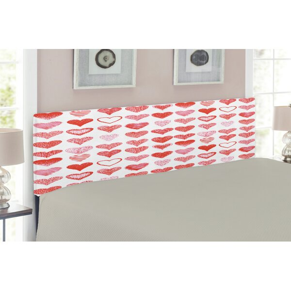 Valentines Day Queen Upholstered Panel Headboard by East Urban Home