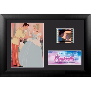 Cinderella Mini FilmCell Presentation Framed Vintage Advertisement by Trend Setters