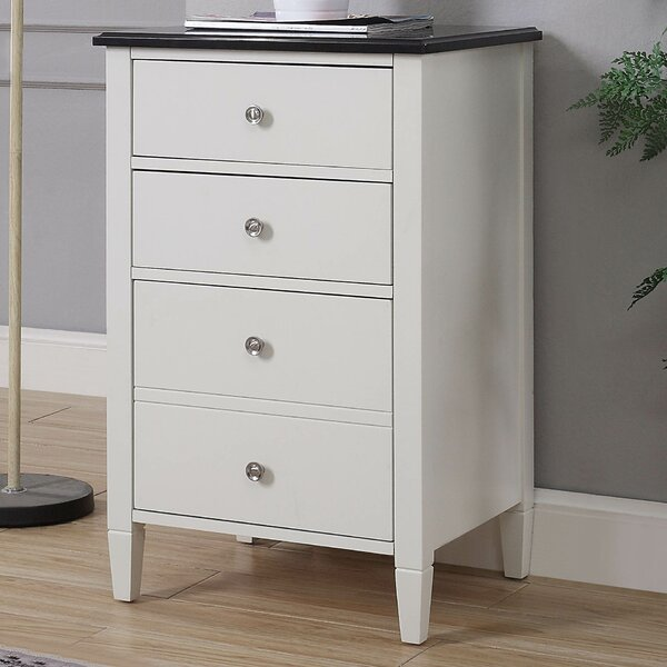 Petrolia 4-Drawer Vertical Filing Cabinet by Winst