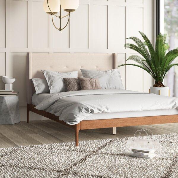 Ellerman Upholstered Platform Bed by Mercury Row