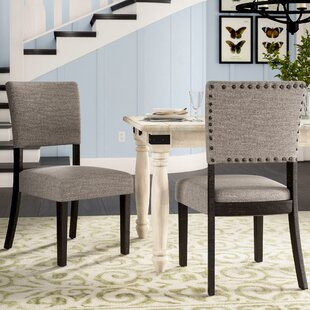 Teesha Upholstered Dining Chair (Set of 2)