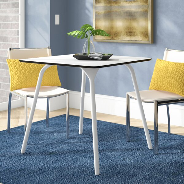 Goggins Plastic/Resin Dining Table by Ebern Designs