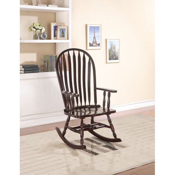 Oxfordshire Rocking Chair by Charlton Home