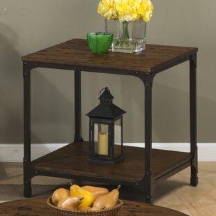 Great Price Carolyn End Table ByLaurel Foundry Modern Farmhouse