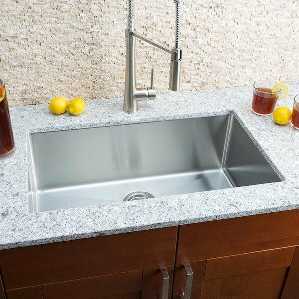 Chef Series 30 L x 18 W Single Bowl Undermount Kitchen Sink
