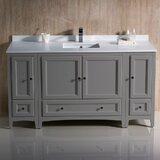 Oxford 60 Single Bathroom Vanity Set byFresca