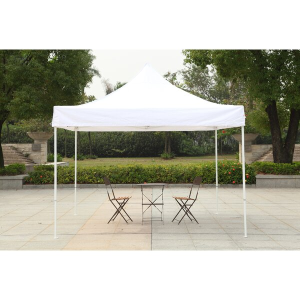 10 Ft. W x 10 Ft. D Steel Pop-Up Canopy by America