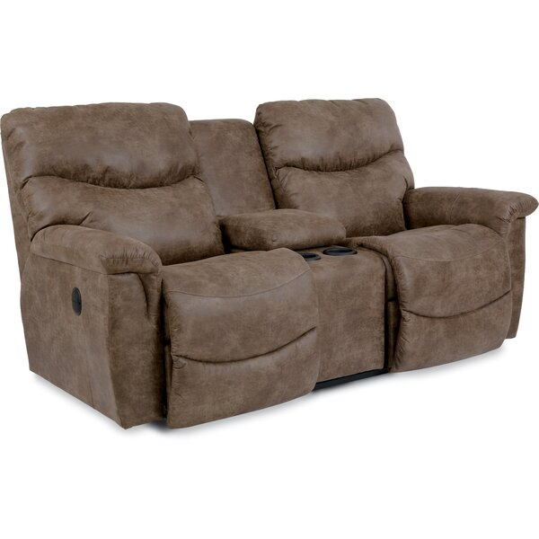 Valuable Price James Reclining Loveseat by La-Z-Boy by La-Z-Boy