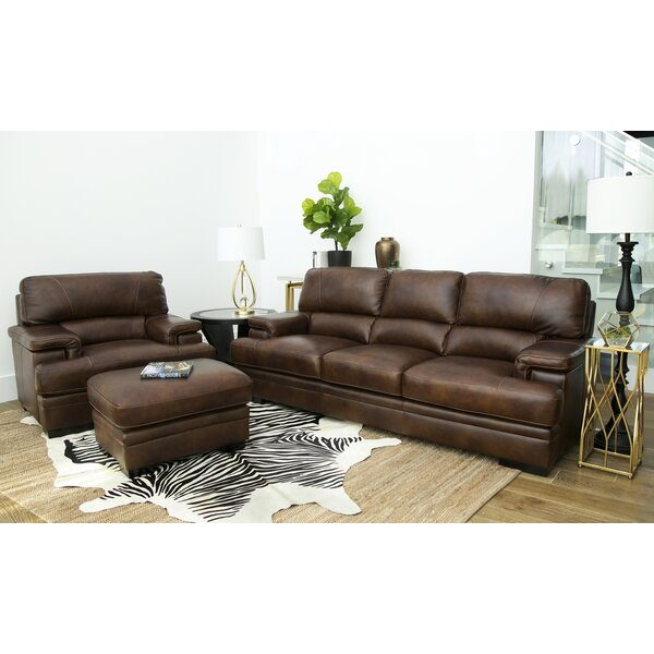 Knuth Leather Configurable Living Room Set by Red Barrel Studio