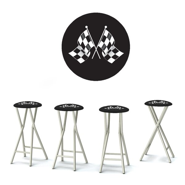 Have At It Boys 30 Patio Bar Stool with Cushion (Set of 4) by Best of Times