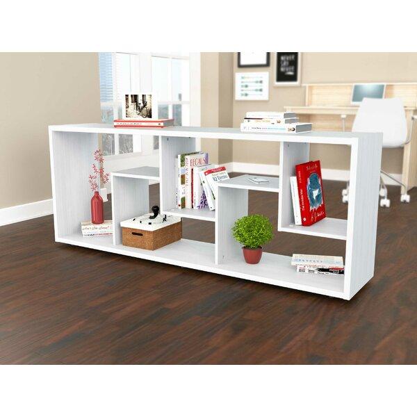 Tekamah Geometric Bookcase by Brayden Studio
