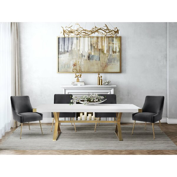 Dusek 5 Piece Dining Set by Brayden Studio