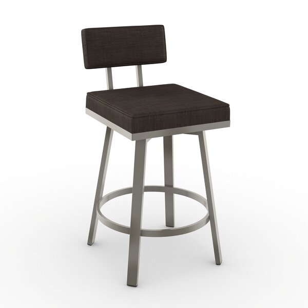 New York Style 30 Swivel Bar Stool by Amisco
