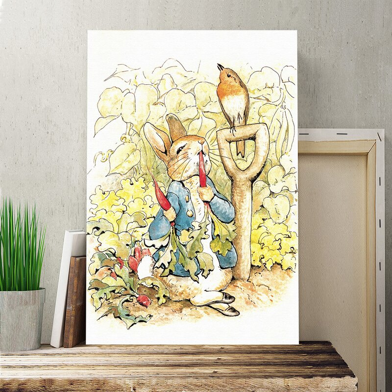 Big Box Art Peter Rabbit \' by Beatrix Potter Painting Print on ...