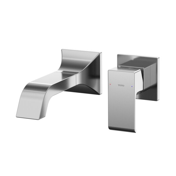 Single-Handle Wall-Mount Bathroom Faucet With Comfort Glide Technology By Toto