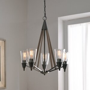 Rosemary 5-Light Candle-Style Chandelier