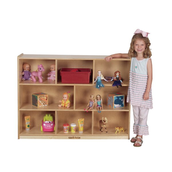 Portable 8 Compartment Cubby by Kids' Station