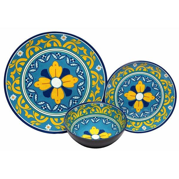 Mardis Melamine 12 Piece Dinnerware Set by Bloomsbury Market