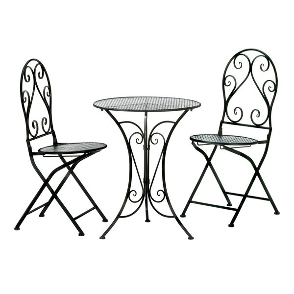 Bittle Chic 3 Piece Bistro Set By Astoria Grand