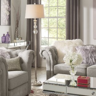 Glam Floor Lamps You\'ll Love | Wayfair