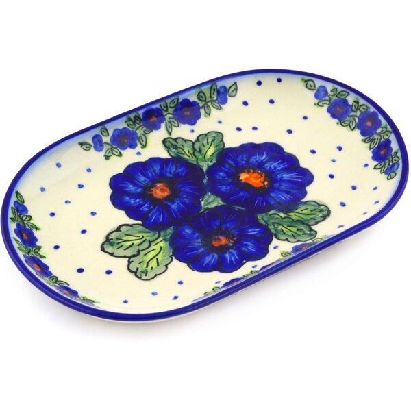 Bold Pansy Platter by Polmedia