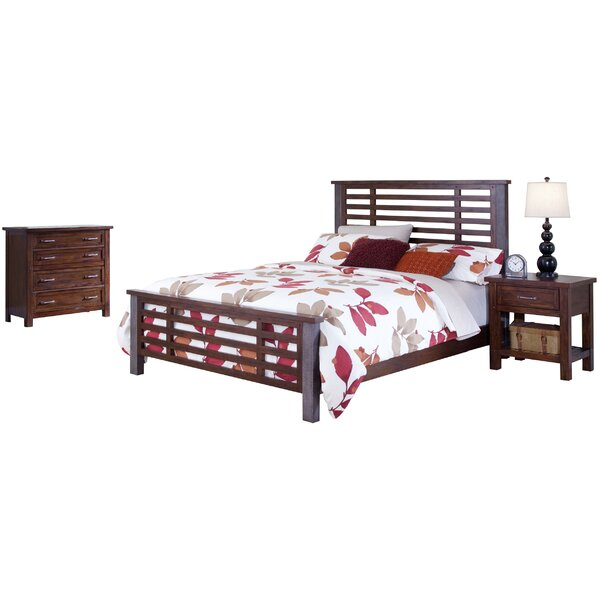 Rockvale Panel 3 Piece Bedroom Set by Loon Peak
