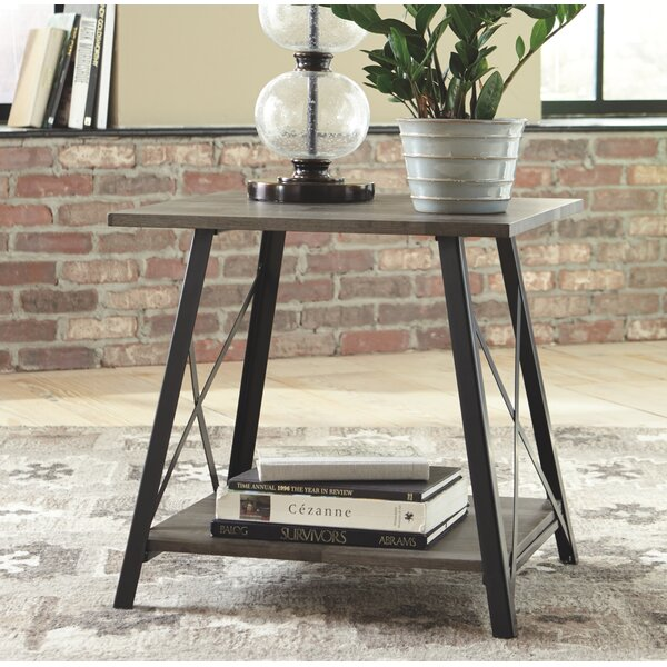Munch End Table by Williston Forge