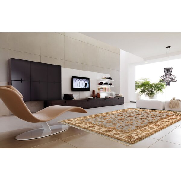 Agra Hand-Knotted Area Rug by Pasargad