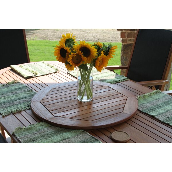 Sabbattus 20 Lazy Susan Patio Serving Tray by Breakwater Bay