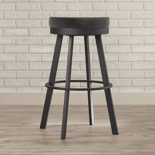 Jamieson 30.25 Swivel Bar Stool by Brayden Studio