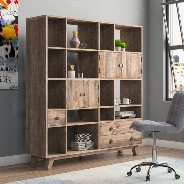 Samuel Geometric Bookcase by Brayden Studio