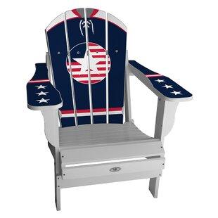 USA Retro Home Plastic Folding Adirondack Chair