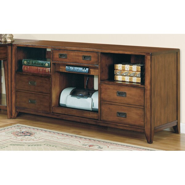 Danforth Open Credenza Desk by Hooker Furniture