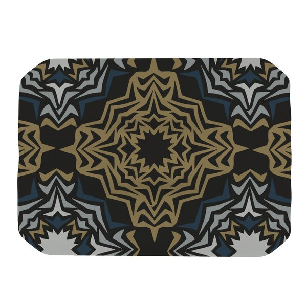 Golden Fractals Placemat by KESS InHouse
