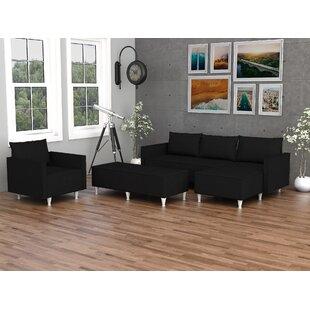 Eldan 3 Piece Living Room Set by Red Barrel Studio®
