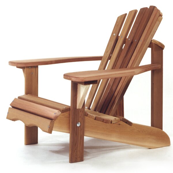 Western Red Cedar Child Solid Wood Adirondack Chair by All Things Cedar