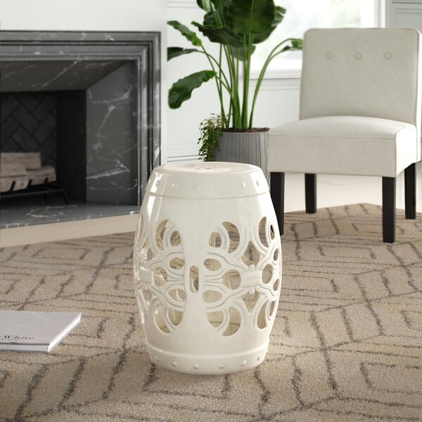 Donofrio Ceramic Garden Stool by Mercury Row Mercury Row