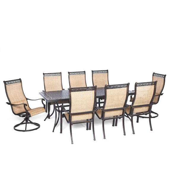 Barras 9 Piece Rectangular Dining Set by Darby Home Co
