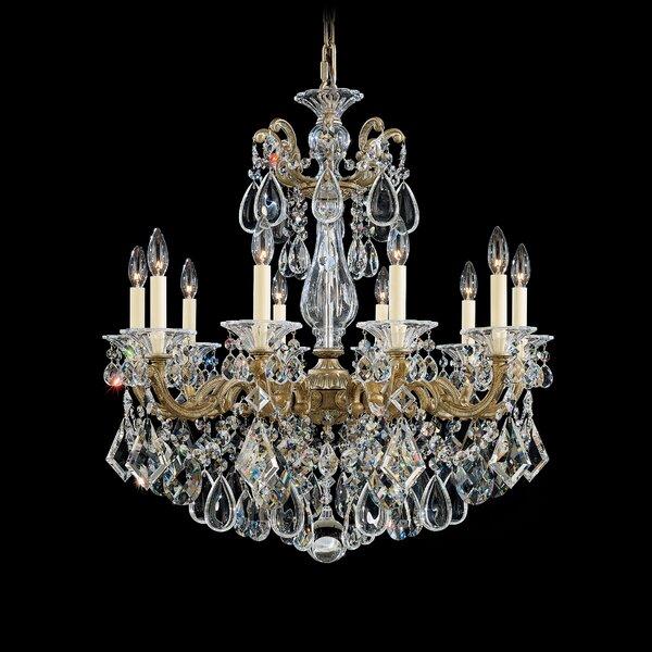 La Scala 10-Light Chandelier by Schonbek
