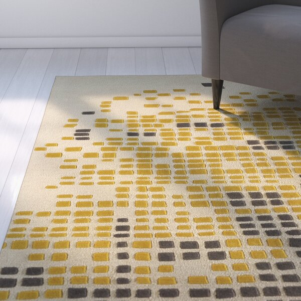 Clara Hand-Tufted Horseradish Area Rug by Latitude Run