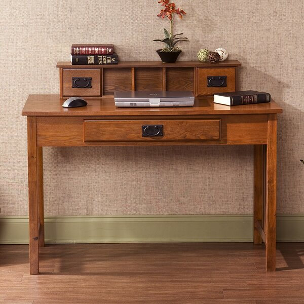 Writing Desk with Hutch by Wildon Home ®