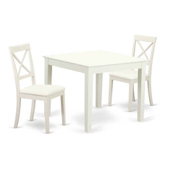 Cobleskill Solid Wood Dining Set by Alcott Hill Alcott Hill