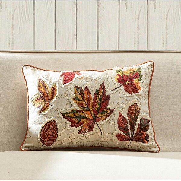 Fall Leaves Lumbar Pillow by 14 Karat Home Inc.