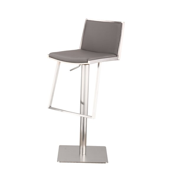 Ibiza Adjustable Height Swivel Bar Stool by Armen Living