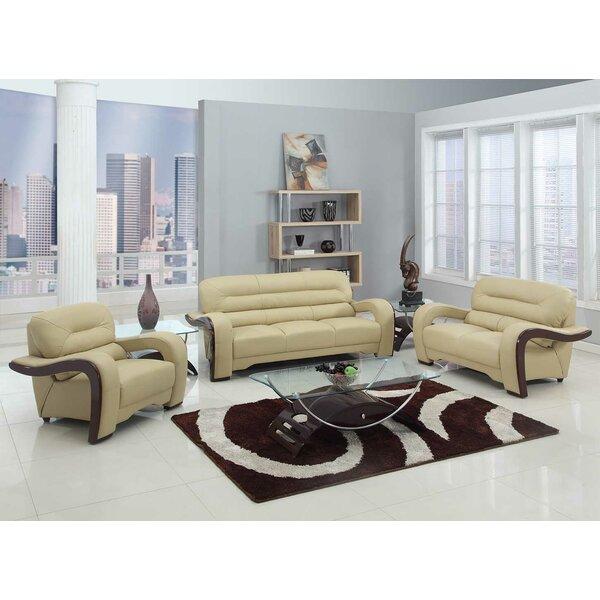 Trower 3 Piece Living Room Set by Red Barrel Studio