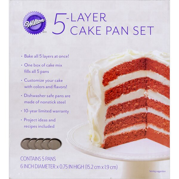 Easy Layer Pan (Set of 5) by Wilton