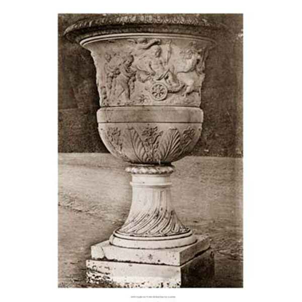 Versailles Urn I by Le Deley Photographic Print by Evive Designs