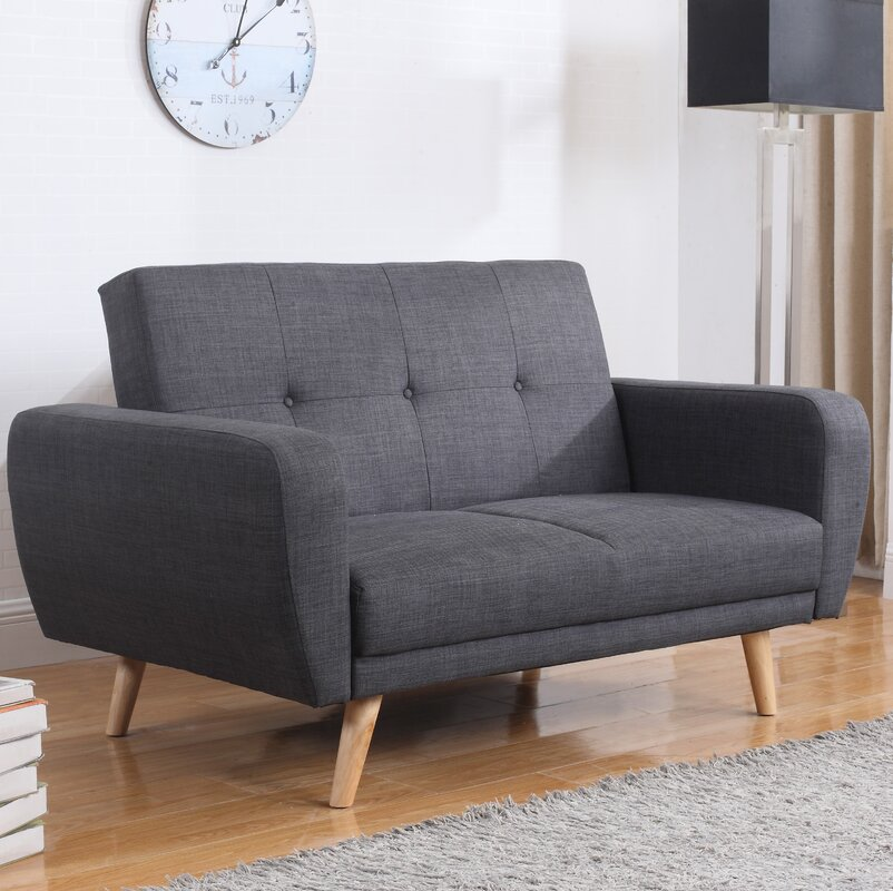 Fjørde Co Farrow 2 Seater Clic Clac Sofa Bed Reviews Wayfair Uk