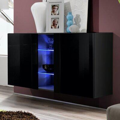 Wrought Studio Acquah 47 Wide Serverr  Color: Black