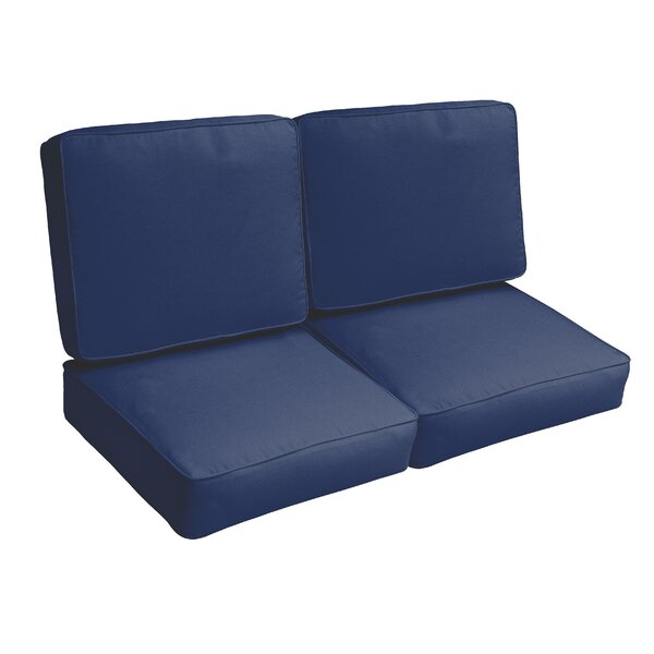 Indoor/Outdoor Loveseat Cushion Set by Brayden Studio